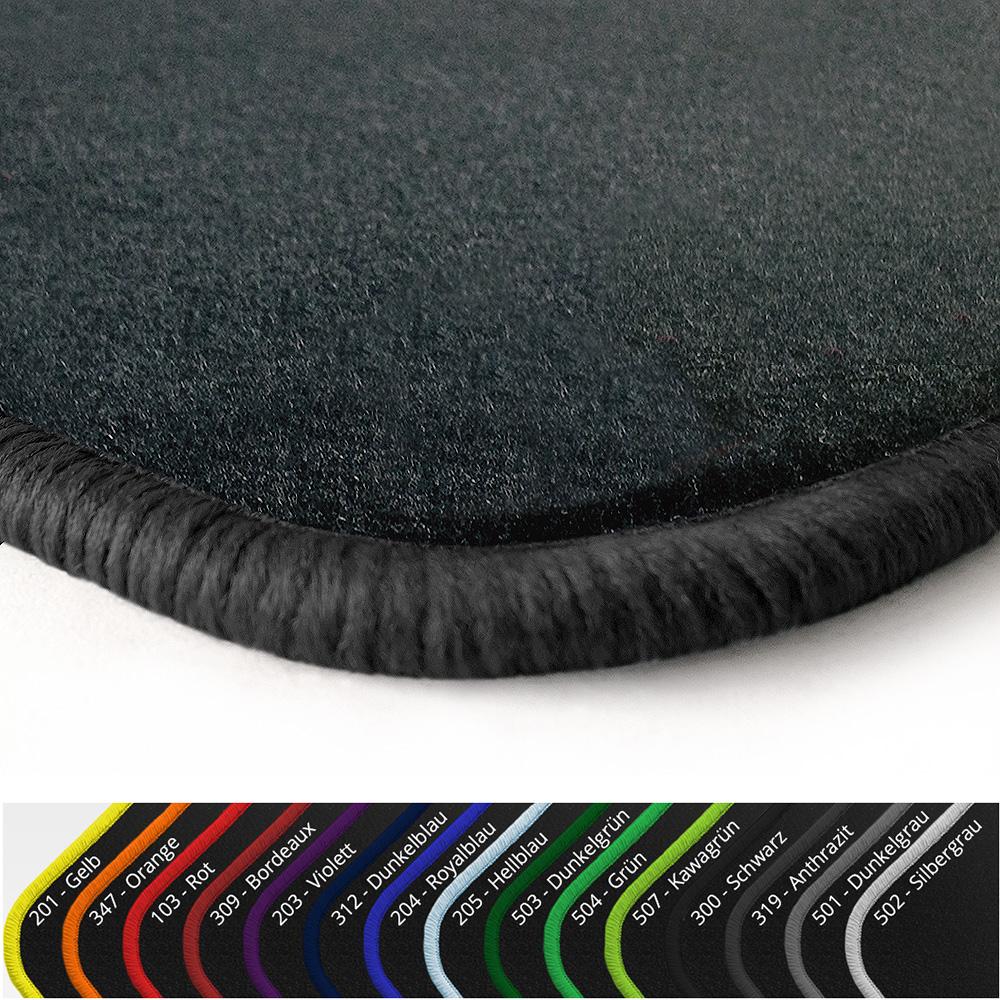 angebot fu matten anthrazit vers randfarben f r vw golf 1. Black Bedroom Furniture Sets. Home Design Ideas