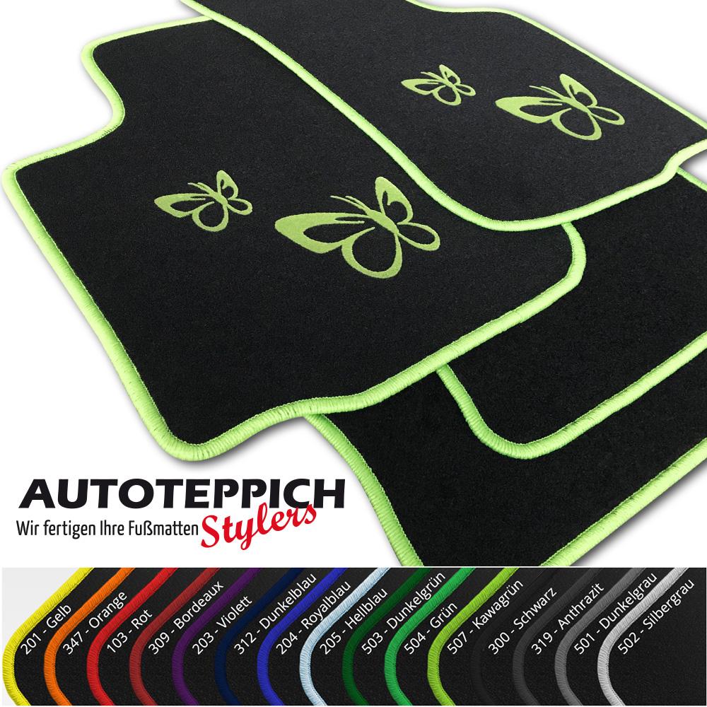 Fußmatten Auto Autoteppich passend für Daihatsu Trevis 2006-2009