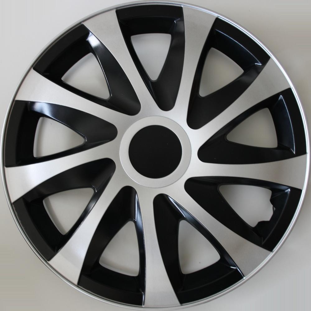 Farbe und Gr/ö/ße w/ählbar Autoteppich Stylers 13 Zoll Radkappen Onyx Carbon