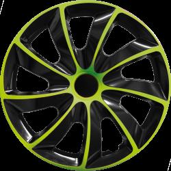 Radkappen Quad BIC Grün