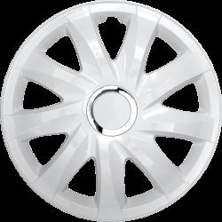 Radkappen Drift Weiß