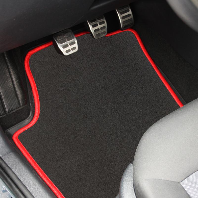 Velours Fußmatten dunkelgrau für BMW 3er E46 Cabrio 00-03